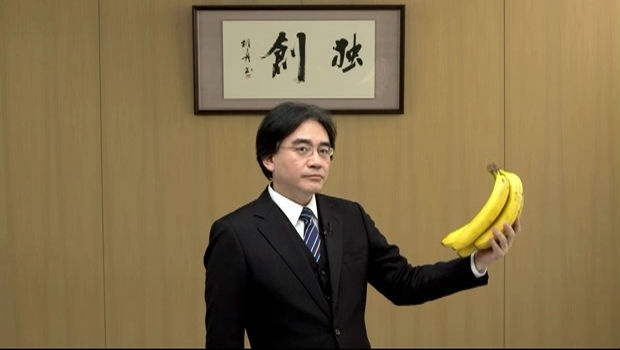 Satoru Iwata never missed a chance to show off his sense of humour
